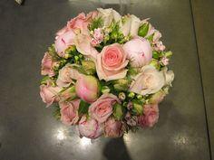 Billedresultat for brudebuket lyserød