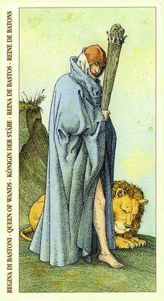 Queen of Wands Tarot Card
