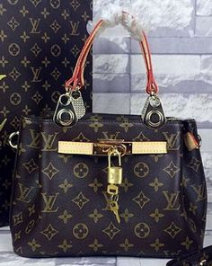 Louis Vuitton Monogram Canvas Top Handle Bag MX1804 Louis Vuitton Handbags 2c866a16131f8