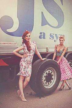 Jan Špatenka a syn, spol. s. r. o. – Sbírky – Google+ Trucks And Girls, Big Trucks, Pin Up, Formal Dresses, Lady, Inspiration, Vintage, Collection, Google