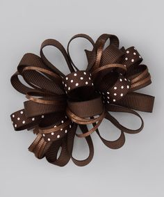 idea for Teagan's bows - I could try to make this