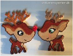 - Perleinspiration til børn og voksne Pearler Bead Patterns, Pearler Beads, 1st Christmas, Christmas Crafts, Fun Crafts, Crafts For Kids, Christmas Perler Beads, Melting Beads, Perler Bead Art