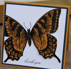 Butterfly beauty by leezil - Cards and Paper Crafts at Splitcoaststampers