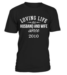 LOVING LIFE AS HUSBAND AND WIFE  T SHIRT  #gift #idea #shirt #image #mother #father #wife #husband #hotgirl #valentine #marride