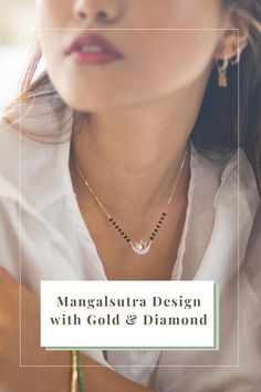 Gold Ring Designs, Gold Bangles Design, Gold Jewellery Design, Mangalsutra Bracelet, Diamond Mangalsutra, Modern Mangalsutra Designs, Necklace Designs, Fine Jewelry, Woman
