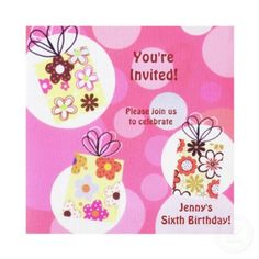 """Featured in the Birthday,Party,Entertainment shop category in the marketplace, the splendid """"invitations"""" invitation displayed above was created by a creative designer named elenaind. With the title, """"bubbles birthday invitation invitation"""", this particular customizable invitation template represents just one of the countless amazingly awesome designs offered at Zazzle. While elenaind appropriately called this invitation template as the """"bubbles birthday invitation invitation"""", you'll find si..."""