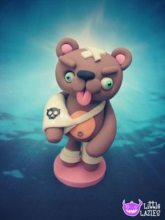 Barry Badbear Ouchies Limited Edition 2/25 Limit by LittleLazies