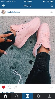 Every girl needs #fashion #shoes #pink #follow