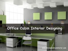 A comfortable and well designed office may increase the productivity of employees. #OfficeCabinInteriorDesigning #ShreePaambanInter