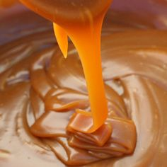 Salted Caramel Recipe ~ smooth and silky, salty and sweet… It's easy to make and can be bottled in pretty jars as a gift, or can be stored for the making of future instant desserts or toppings.