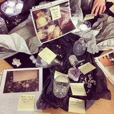 """A provocation to engage with a night sky inquiry & to document & comment on what they see, think, or wonder - from Joanne Babalis ("""",)"""