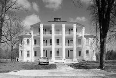 Frazier-Pressley House (Abbeville County, South Carolina). Completed in 1856. #octagon #homedesign