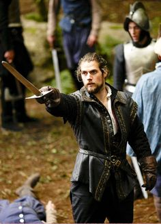 Charles Brandon, 1st Duke of Suffolk - Henry Cavill in The Tudors, set between 1519 and 1547 (TV series 2007-2010).