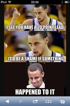 Lol steph curry funny sports memes, sports humor, cheerleading for kids, team mom Funny Nba Memes, Funny Basketball Memes, Sport Basketball, Basketball Quotes, Love And Basketball, Really Funny Memes, Funny Quotes, Curry Basketball, Funny Sports Quotes