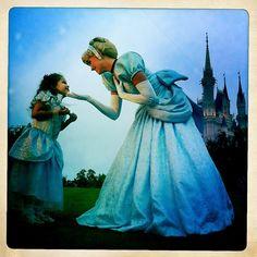 Finish this sentence:  When I go to Walt Disney World I want to meet...!  #DisneyPrincess #Cinderella