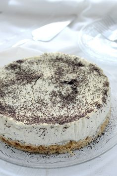 Tiramisu, Food And Drink, Ethnic Recipes, Sweet, Poppy, Cakes, Candy, Mudpie, Poppies