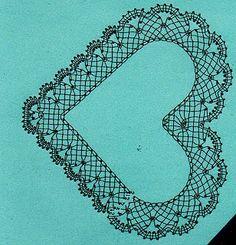 Les ouvrages de Myriam: Premier ouvrage en dentelle aux fuseaux