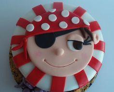 tarta pirata Archives - Tartas de fondant personalizadas en ...