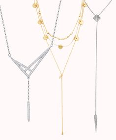 These on-trend necklaces are on our wishlist!