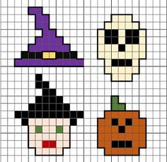 Free mini Halloween pixel art designs, perfect motifs for cross stitch or Hama beads. #halloween #free #designs #patterns #crossstitch #mini #small Creepy Halloween, Halloween Games, Halloween Crafts, Halloween Decorations, Halloween Ideas, Beaded Napkin Rings, Creepy Makeup, Crossstitch, Hama Beads