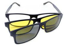 usee-ClipOn3cores-056-6 Armação De Oculos Clip On Stapler 3 lentes (pares) Masculino – US 411 Formato quadrado suave perfeito para o dia a dia, com 3 opções de lente. Oculos 3 em 1 – Ótima qualidade. Wayfarer, Oakley Sunglasses, 1, Fashion, Eyewear Trends, Lenses, Moda, Fashion Styles, Fashion Illustrations