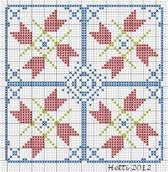 Creative Workshops from Hetti: SAL Delfts Blauwe Tegels, Deel 4 - SAL Delft Blue Tiles, Part 4., Expanded Tile 4