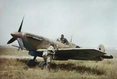 Supermarine Spitfire Mk V and pilots of No. 40 Squadron, South African Air Force, at Gabes in Tunisia, April The Supermarine Spitfire. Aircraft Photos, Ww2 Aircraft, Fighter Aircraft, Military Aircraft, Fighter Jets, Navy Aircraft, South African Air Force, The Spitfires, Focke Wulf