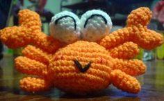 Crochet Crab amigurumi