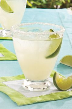 Classic Margaritas on the Rocks - Must-Have Margaritas and More! - Southernliving. Recipe:Classic Margaritas on the Rocks  These are potent, yet amazingly smooth-tasting when you use good-quality tequila and orange liqueur and thoroughly shake the mixture with ice before pouring over ice cubes to serve.