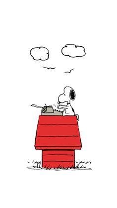 Snoopy, still writing that 'Great American Novel'. Snoopy Wallpaper, Disney Wallpaper, Cartoon Wallpaper, Cool Wallpaper, Wallpaper Backgrounds, Snoopy Love, Snoopy And Woodstock, Peanuts Cartoon, Peanuts Snoopy