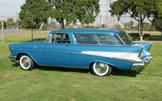 1957 Chevy Bel Air, Chevrolet Bel Air, Chevy Vehicles, Beach Wagon, Chevy Nomad, Car Station, Unique Cars, Chevy Impala, Sweet Cars