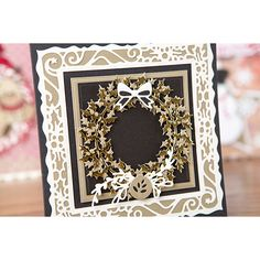 Tonic Rococo Christmas Die Collection - Includes 10 Die Sets (375805) | Create and Craft