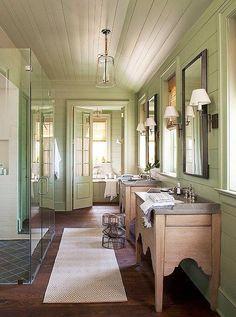 more Bill Ingram ....LOVE, my favorite bathroom ever
