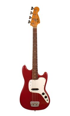 Fender Musicmaster Bass 1975 Declarative Red