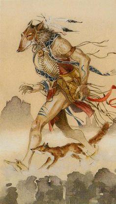 O. The Fool - Native American Tarot by Laura Tuan, Sergio Tisselli