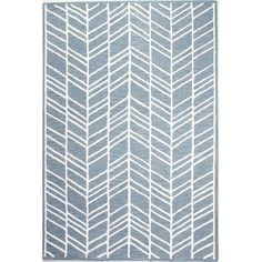 Found it at AllModern - Maranto Hand-Tufted Denim Area Rug