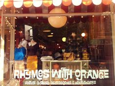 Rhymes with Orange vintage shop on 223 McDermot Winnipeg