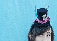 Tiny Top Hat Mad Hatter Alice in Wonderland