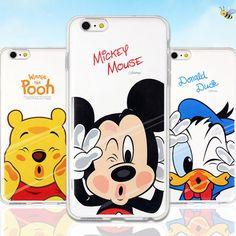 Genuine Disney Kiss Double Bumper Case Galaxy S6 Case Galaxy S6 Edge Case 6 type #Disney