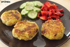 Hamburguesas de patatas deliciosas | Cocinar en casa es facilisimo.com