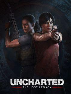 Uncharted: The Lost Legacy, Marek Okon on ArtStation at https://www.artstation.com/artwork/relO2
