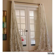 @Overstock.com - Lara 96-inch Shimmer Panel Window Curtain - The perfect spring or summer look for any room in your home, this elegant window curtain panel will put the finishing touch on any decor. It as a grommet style top of easy installation, and it has a neutral lining, which will help filter light.   http://www.overstock.com/Home-Garden/Lara-96-inch-Shimmer-Panel-Window-Curtain/7463321/product.html?CID=214117 $53.99