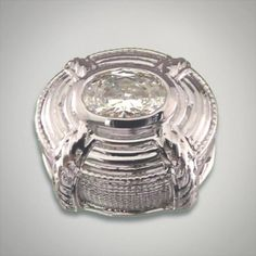 GK Coloures sterling silver oval slide featuring a 7 x 5 millimeter faceted oval clear cubic zirconia center Metal:Sterling Silver Designer:Goldman-Kolber $ 100.00 Item #: UYKKNC Call 870-863-8818 for personal consultation.