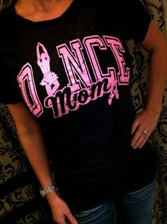 Sports Mom Shirts, T Shirts For Women, Dance Mom Shirts, Spirit Shirts, Cheer Dance, Cheer Mom, Dance Moms, Dance Outfits, Mom Style