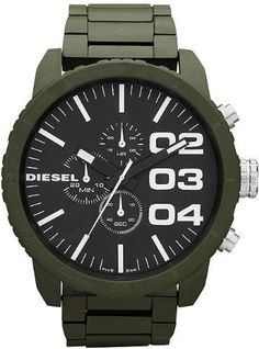 Diesel Men's DZ4251 Advanced Green Watch « Impulse Clothes