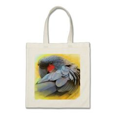 Black Palm Cockatoo realistic painting Canvas Bags. Realistic painting of black palm cockatoo merchandises #birdthemedgifts #giftsforbirdlovers #bigparrot #blackcockatoo #petparrot #birdart #giftsforcockatoolovers #parrotdrawing #blackpalmcockatoodrawing #petopet #emmilthomas #wildparrot #wildcockatoo #cockatoolovers #parrottotebag