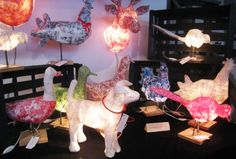 Would You Want an Animal Lamp by  Marie-Astrid Montagnier?