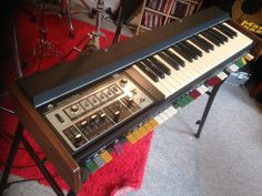 MATRIXSYNTH: Roland SH 2000 Analog vintage synth with hard case...