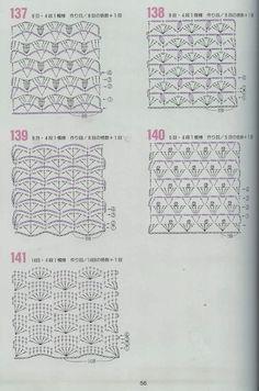 TRICO y CROCHET-madona-mía: Mantas a crochet en una sola pieza ( patrón de puntos para usar)
