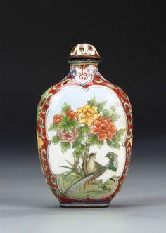 Chinese Bronze Snuff Bottle
